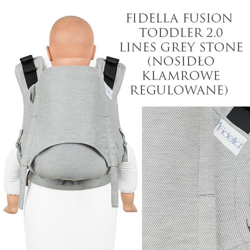 Fidella Fusion 2.0 wypożyczalnia nosidło klamrowe regulowane