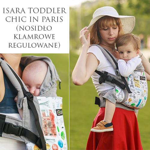 Isara Toddler Chic in Paris nosidło ergonomiczne klamrowe wypożyczalnia