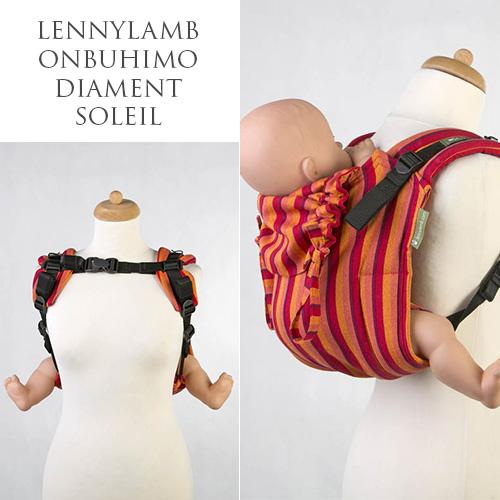 LennyLamb Onbuhimo nosidełko ergonomiczne wypożyczalnia