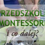 Przedszkole Montessori i co dalej?