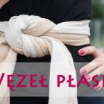Wiązanie chusty – węzeł płaski