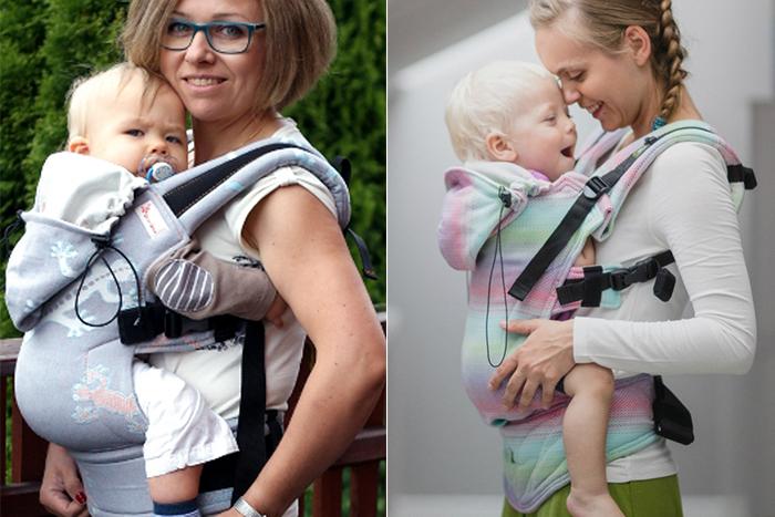 nosidła ergonomiczne dla dzieci doux-doux lennylamb