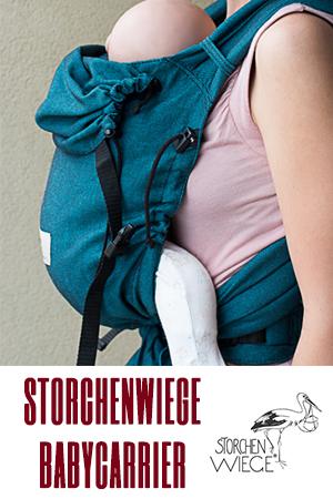 Regulowane nosidła ergonomiczne Storchenwiege
