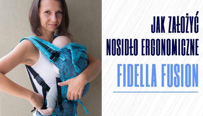Jak założyć nosidło ergonomiczne Fidella Fusion?