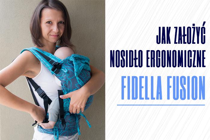 Jak założyć nosidło ergonomiczne Fidella Fusion